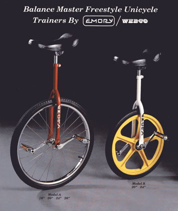emory unicycles